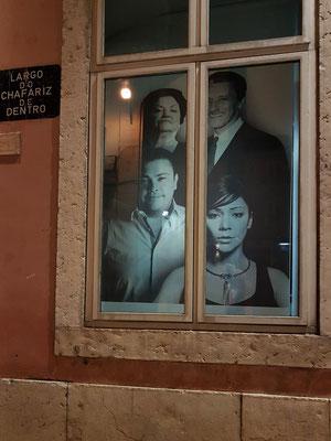 Fenster im Museo do Fado