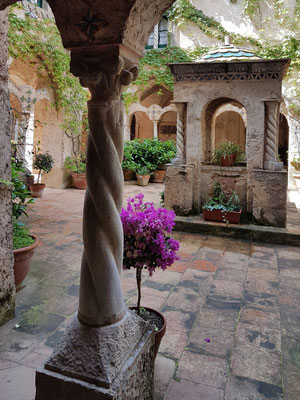 The Cloister. Arabian-Sicilian-Norman Style
