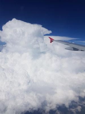 Wolkenmeer über Anatolien