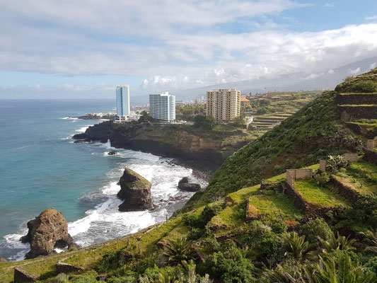 Blick auf Playa de los Roques