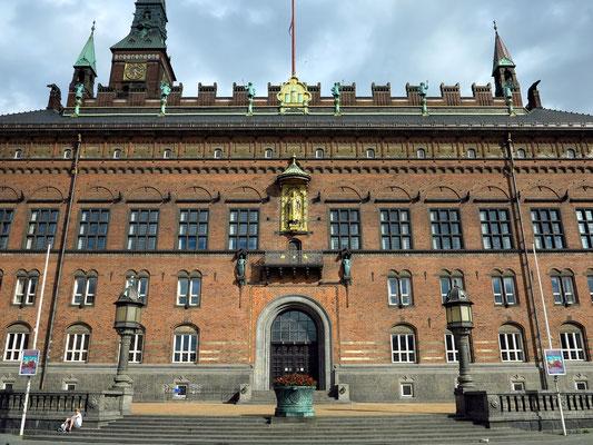 Rathaus von Kopenhagen, erbaut zwischen 1892 und 1905