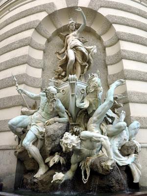 Hofburg, Brunnen