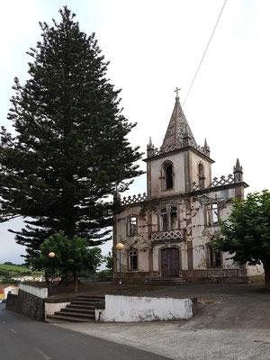 Kirchenruine von Ribeirinha, Zerstörung durch das Erdbeben vom 9. 7. 1998