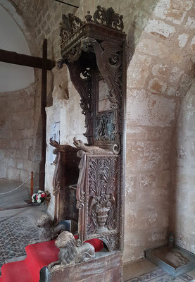 In der Kirche Agios Afksentios