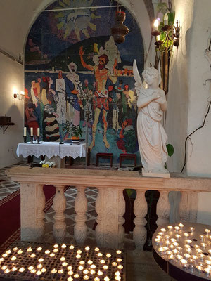 Innenraum der Kirche Sveti Ivan