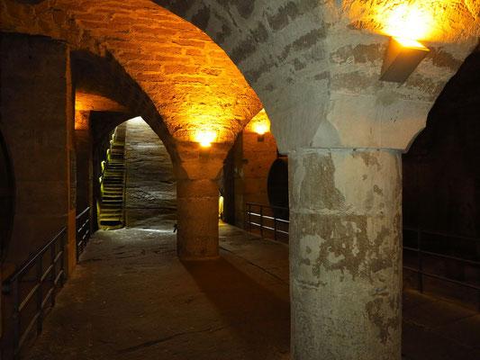 Tiefkeller der Festung Königstein