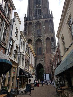 Utrecht, Domturm von Westen