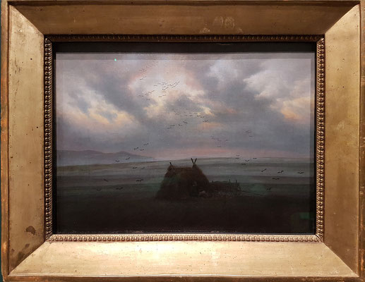 Caspar David Friedrich (1774-1840, DE): Nebelschwaden, 1820 (Hamburger Kunsthalle)