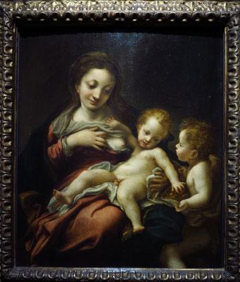 Antonio da Correggio: Madonna del Latte, 1522-1525