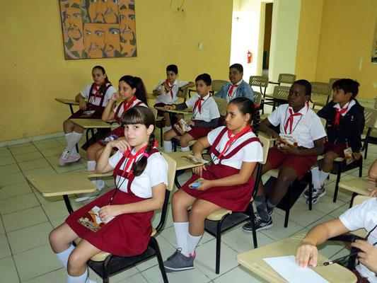 In einer Schule in Camagüey