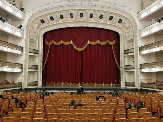 Der Große Saal Federico García Lorca fasst etwa 1500 Personen.