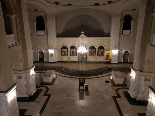 Unterkirche in der Sameba-Kathedrale