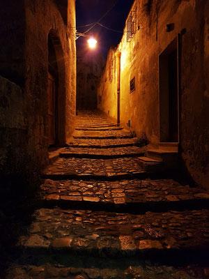 Treppengasse in Matera