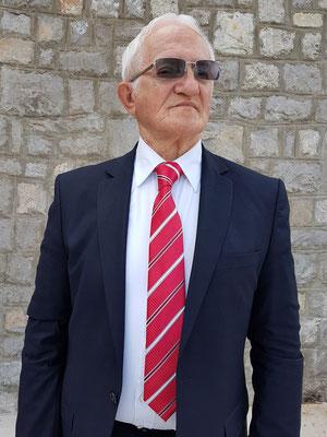 Vukašin Ćulafić, ehemals Leiter des Jugoslawischen Fremdenverkehrsamtes in Düsseldorf (bis 1983), danach Inhaber der Reiseagentur  Exclusive tours - Ćulafić in Budva, Montenegro