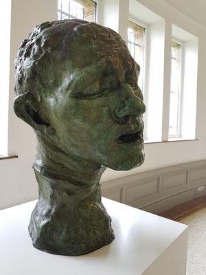 Auguste Rodin (1840 - 1917), Kopf von Pierre de Wissant, ca. 1910