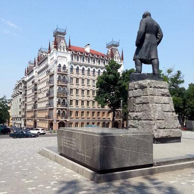 Monument für Taras Schewtschenko, ukrainischer Lyriker, 1814 - 1861