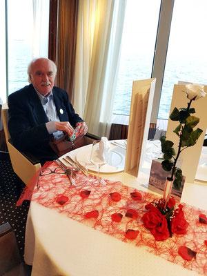 Bernd Thyerlei im Gourmet-Restaurant Rossini