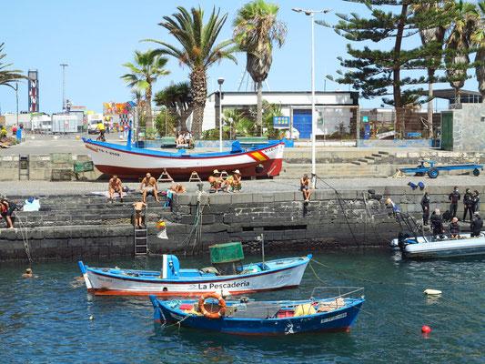 Alter Hafen von Puerto de la Cruz