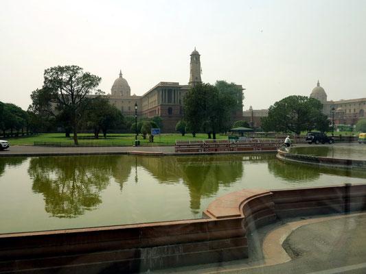 Rashtrapati Bhava, Amtssitz und Residenz des indischen Staatspräsidenten