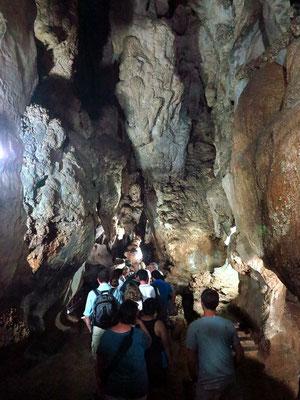 Eingang in die Cueva del Indio