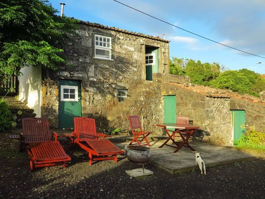 Casa da Vinha bei Morgensonne