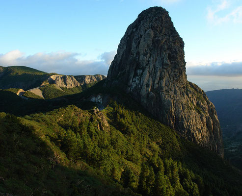 Vulkanschlot Roque de Agando (1182 m)
