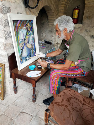 Aserbaidschanischer Künstler