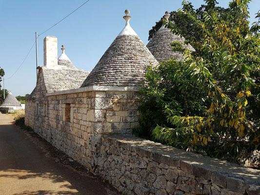 Trullo auf dem Land in der Umgebung von Alberobello