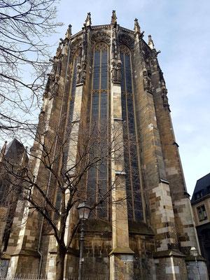 Gotischer Ostchor des Aachener Doms