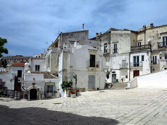 In der Altstadt von Monte Sant'Angelo
