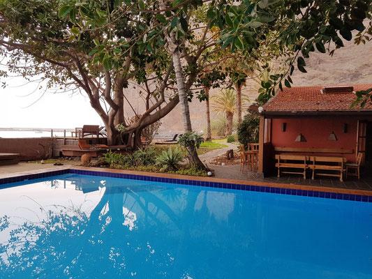 Swimmingpool der Finca Argayall
