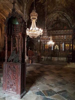 Im Innern der Klosterkirche