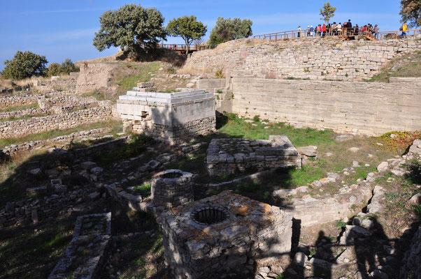 Tempel und Opferplätze von Troja VIII, ab 700 v. Chr.