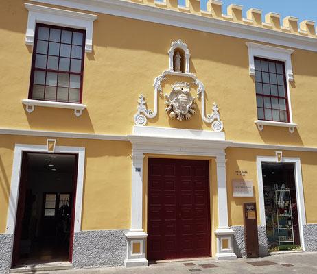 La Laguna, Calle Obispo Rey Redondo, Casa Mesa 18. Jahrhundert