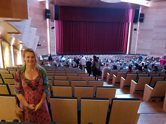 Auditorio von Puerto del Rosario, Zuschauersaal mit 600 Plätzen