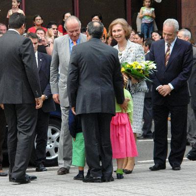 Besuch von König Juan Carlos und Königin Sofía am 23. November 2006 in San Sebastián