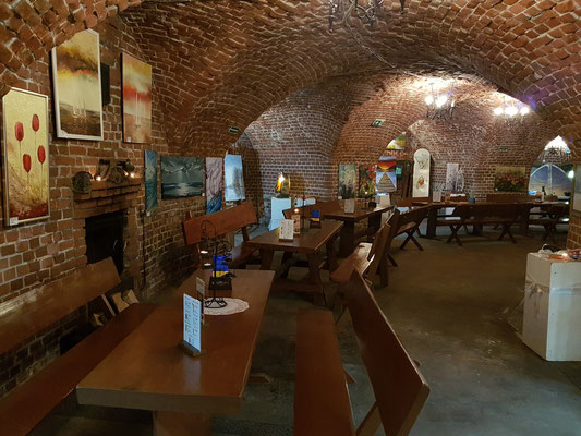 Restaurant im Kellergewölbe
