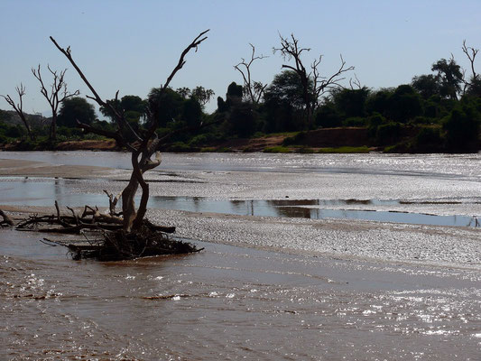 Uaso Nyiro Fluss
