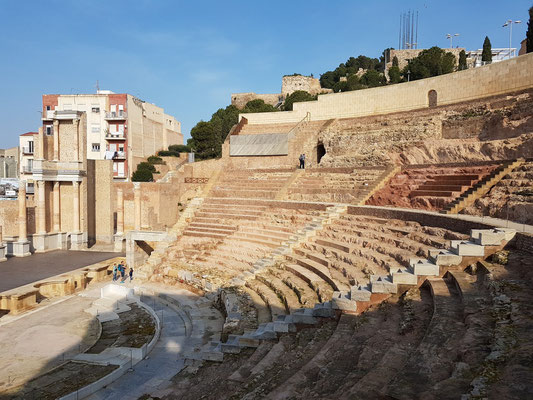 Teatro Romano mit einer Kapazität von rund 6000 Zuschauern