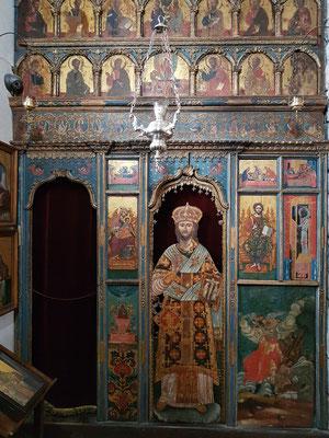 Serbisch-orthodoxe Kirche des Heiligen Lukas, Ikonostase