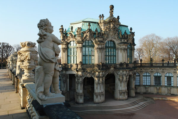Der Zwinger, Wallpavillon (10.3.2008)