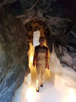 Kellerräume, Verbindungsgang zwischen den Vulkangrotten