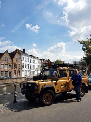 Landrover, unser ehemaliges Traumauto für eine Weltreise (Foto: Kerstin Rother-Schäfer)