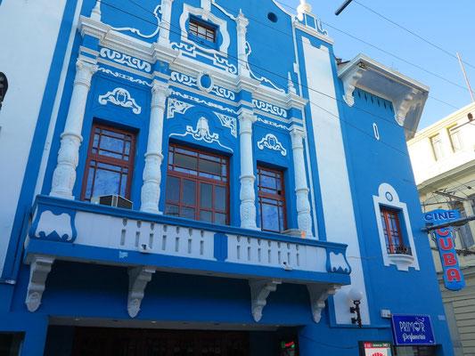 Calle José Antonio Saco, Cine Cuba