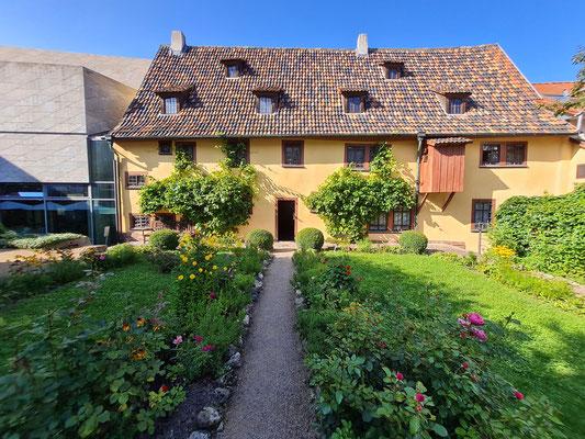 Denkmalgeschützter Bachhaus-Garten