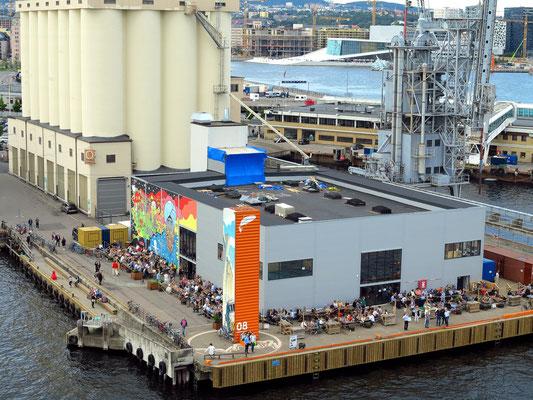 Einfahrt in den Hafen von Oslo