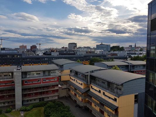 Hotel Anker, Blick aus meinem Zimmer 905