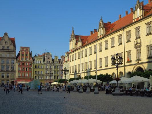 Rynek (Marktplatz) mit Restaurants