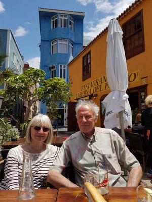 Lunch mit Brigitte und Klaus in der Taberna Del Puerto