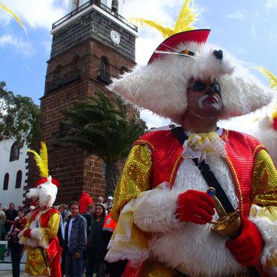 Karneval in Teguise und an der Costa Teguise
